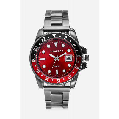 SHI WEI BAO K2068 Quartz Men WristwatchMens Watches<br>SHI WEI BAO K2068 Quartz Men Wristwatch<br><br>Band material: Stainless Steel<br>Band size: 16.5 x 1.8cm<br>Case material: Zinc Alloy<br>Clasp type: Folding clasp with safety<br>Dial size: 4.0 x 4.0 x 0.9cm<br>Display type: Analog<br>Movement type: Quartz watch<br>Package Contents: 1 x Wristwatch, 1 x Box<br>Package size (L x W x H): 10.36 x 7.84 x 7.43 cm / 4.08 x 3.09 x 2.93 inches<br>Package weight: 0.1620 kg<br>Product size (L x W x H): 20.50 x 4.00 x 0.90 cm / 8.07 x 1.57 x 0.35 inches<br>Product weight: 0.0920 kg<br>Shape of the dial: Round<br>Watch style: Outdoor Sports, Casual<br>Watches categories: Men<br>Water resistance: Life water resistant