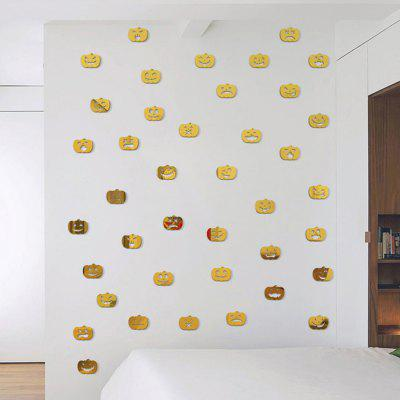 100PCS DIY Halloween Pumpkin Lamp Mirror Wall StickersWall Stickers<br>100PCS DIY Halloween Pumpkin Lamp Mirror Wall Stickers<br><br>Function: Decorative Wall Sticker, 3D Effect<br>Material: PS<br>Package Contents: 100 x Wall Sticker<br>Package size (L x W x H): 15.00 x 15.00 x 8.00 cm / 5.91 x 5.91 x 3.15 inches<br>Package weight: 0.1600 kg<br>Product size (L x W x H): 3.00 x 3.80 x 0.20 cm / 1.18 x 1.5 x 0.08 inches<br>Product weight: 0.1500 kg<br>Quantity: 100pcs<br>Subjects: 3D,Mirror<br>Suitable Space: Bedroom,Living Room<br>Type: Mirror Wall Sticker, 3D Wall Sticker
