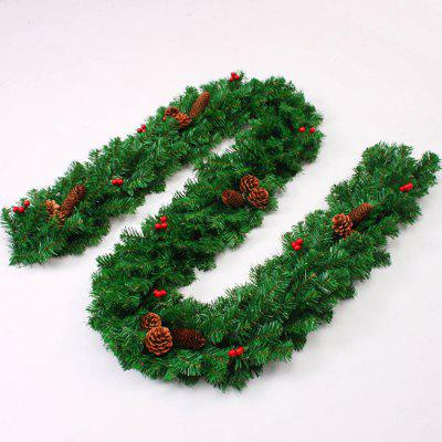 Artificial Plastic Christmas Decorative RattanChristmas Supplies<br>Artificial Plastic Christmas Decorative Rattan<br><br>For: All<br>Material: Iron, Plastic<br>Package Contents: 1 x Christmas Rattan<br>Package size (L x W x H): 50.00 x 30.00 x 10.00 cm / 19.69 x 11.81 x 3.94 inches<br>Package weight: 0.8050 kg<br>Product weight: 0.5000 kg<br>Usage: Christmas, New Year