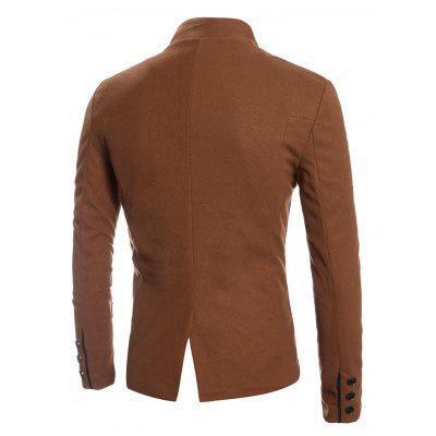 Casual Stylish Slim Fit Wool Blazer CoatMens Blazers<br>Casual Stylish Slim Fit Wool Blazer Coat<br><br>Material: Polyester, Wool<br>Package Contents: 1 x Blazer Coat<br>Package size: 35.00 x 30.00 x 2.00 cm / 13.78 x 11.81 x 0.79 inches<br>Package weight: 0.8700 kg<br>Product weight: 0.8500 kg