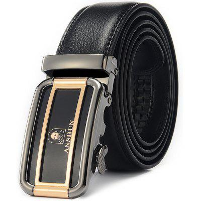 Business Popular Style Men Automatic Buckle Trouser Belt