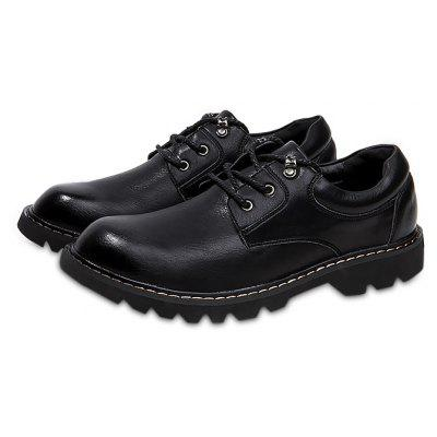 Male British Casual Soft Business Dress Shoes