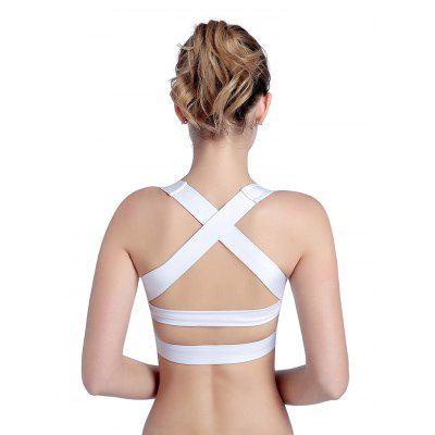 Female Breathable Back Cross Shockproof Yoga BraTops<br>Female Breathable Back Cross Shockproof Yoga Bra<br><br>Package Contents: 1 x Yoga Bra<br>Package size: 30.00 x 25.00 x 6.00 cm / 11.81 x 9.84 x 2.36 inches<br>Package weight: 0.1250 kg<br>Product weight: 0.1000 kg