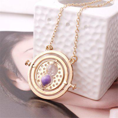 Time Converter Hourglass Women NecklaceNecklaces &amp; Pendants<br>Time Converter Hourglass Women Necklace<br><br>Occasions: Performance<br>Package Contents: 1 x Necklace<br>Package size (L x W x H): 5.00 x 5.00 x 4.00 cm / 1.97 x 1.97 x 1.57 inches<br>Package weight: 0.0400 kg<br>Product weight: 0.0200 kg<br>Style: Fashion<br>Type: Necklaces