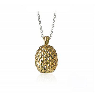 Nice egg pendant necklace one size 256 online shopping gearbest necklace email only mozeypictures Image collections