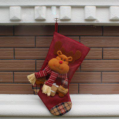 MCYH275 1PC Creative Christmas Decorations Gift SocksChristmas Supplies<br>MCYH275 1PC Creative Christmas Decorations Gift Socks<br><br>Brand: MCYH<br>For: Friends, Kids<br>Material: Nonwoven<br>Package Contents: 1 x Sock<br>Package size (L x W x H): 30.00 x 47.00 x 2.00 cm / 11.81 x 18.5 x 0.79 inches<br>Package weight: 0.1500 kg<br>Product weight: 0.1000 kg<br>Usage: Christmas