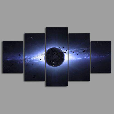 Buy COLORMIX YSDAFEN kn 88 5PCS Canvas Framed Starry Sky Prints for $55.37 in GearBest store