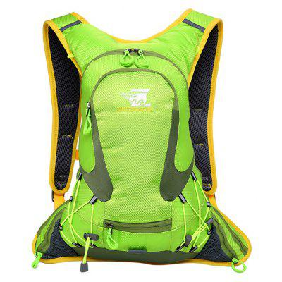 Buy GREEN Men Outdoor Water-resistant Backpack for Climbing for $22.59 in GearBest store