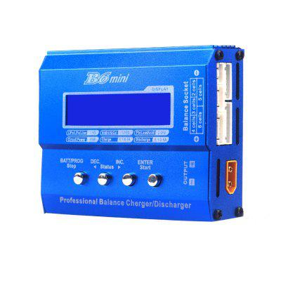 iMAX B6 Balance Charger / Discharger for RC Battery ChargingCharger<br>iMAX B6 Balance Charger / Discharger for RC Battery Charging<br><br>Package Contents: 1 x Balance Charger / Discharger, 2 x Line, 1 x English Instruction<br>Package size (L x W x H): 11.00 x 9.00 x 3.00 cm / 4.33 x 3.54 x 1.18 inches<br>Package weight: 0.2500 kg<br>Product size (L x W x H): 10.20 x 8.40 x 2.90 cm / 4.02 x 3.31 x 1.14 inches<br>Product weight: 0.2300 kg<br>Type: Balance Charger, Charger