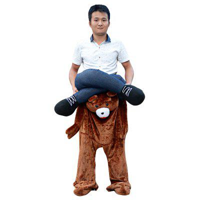 Bear Style Novelty Fancy Dress for Party RideNovelty Toys<br>Bear Style Novelty Fancy Dress for Party Ride<br><br>Features: Cartoon, Creative Toy, Soft<br>Materials: Polyester<br>Package Contents: 1 x Novelty Fancy Dress<br>Package size: 40.00 x 30.00 x 10.00 cm / 15.75 x 11.81 x 3.94 inches<br>Package weight: 0.9000 kg<br>Product size: 30.00 x 10.00 x 75.00 cm / 11.81 x 3.94 x 29.53 inches<br>Product weight: 0.7500 kg<br>Series: Entertainment<br>Theme: Animals