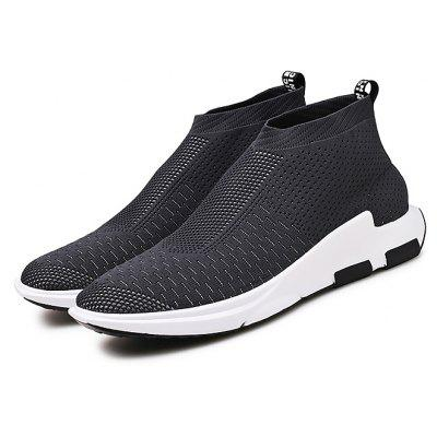 Masculino Respirável Soft Casual Slip On Sports Sneakers