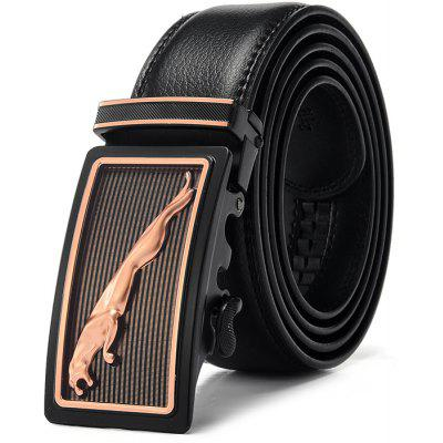 Men Business Automatic Alloy Buckle Trouser Belt