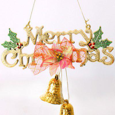 Christmas Jingle Bells Festival Decoration for HomeChristmas Supplies<br>Christmas Jingle Bells Festival Decoration for Home<br><br>Package Contents: 1 x Bell Decoration<br>Package size (L x W x H): 25.50 x 14.50 x 5.00 cm / 10.04 x 5.71 x 1.97 inches<br>Package weight: 0.1500 kg<br>Product weight: 0.1000 kg<br>Usage: Christmas