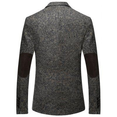 Male Solid Color Single-breasted BlazerMens Blazers<br>Male Solid Color Single-breasted Blazer<br><br>Material: Polyester<br>Package Contents: 1 x Blazer<br>Package size: 35.00 x 30.00 x 2.00 cm / 13.78 x 11.81 x 0.79 inches<br>Package weight: 0.8700 kg<br>Product weight: 0.8500 kg