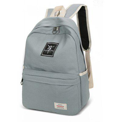 Men Chic Multifunctional Canvas Backpack