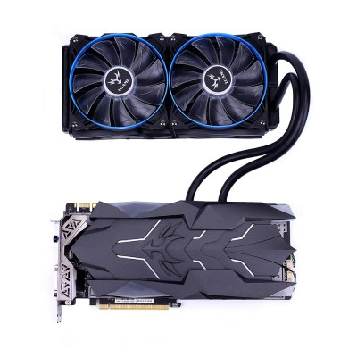 Colorful NVIDIA iGame GeForce GTX1080Ti Video Graphics CardGraphics &amp; Video Cards<br>Colorful NVIDIA iGame GeForce GTX1080Ti Video Graphics Card<br><br>Brand: Colorful<br>Chipset Manufacturer: NVIDIA<br>CUDA Cores: 3584<br>Engine Clock: 1480MHz<br>Graphics Chipset: GP102<br>I/O Interface: 1 x DVI, 2 x DP, 2 x HDMI<br>Interface Type: PCI-E 3.0<br>Maximum Resolution: 7680 x 4320<br>Memory Bus Width: 352bit<br>Package size: 32.00 x 18.00 x 8.00 cm / 12.6 x 7.09 x 3.15 inches<br>Package weight: 3.2000 kg<br>Packing List: 1 x Video Graphics Card<br>PCI Express Type: X16<br>Power: 250W<br>Power Interface: 6 + 6Pin<br>Process Technology: 16nm<br>Product size: 30.00 x 15.00 x 6.00 cm / 11.81 x 5.91 x 2.36 inches<br>Product weight: 2.2000 kg<br>Radiator Type: Dual Fans<br>Supports System: Ubuntu 16.04 64bit, Windows 10, Windows 7<br>Video Memory Capacity: 11GB<br>Video Memory Frequency: 11000MHz<br>Video Memory Type: GDDR5