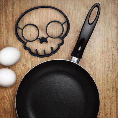 Skull Shape Silicone Omelet Mould Kitchen Tool