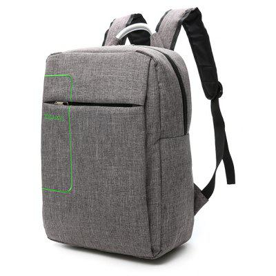 Buy GRAY Men Leisure Durable Nylon Laptop Backpack for $15.23 in GearBest store