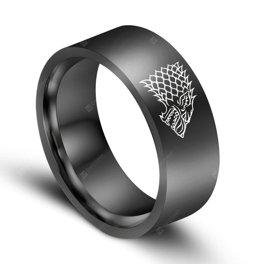Stainless Steel Men Ring