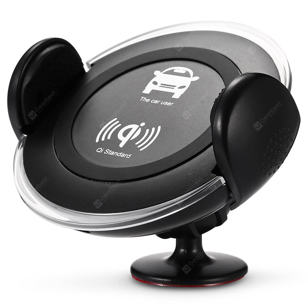 HH003 2-in-1 Car Phone Mount Wireless Charger