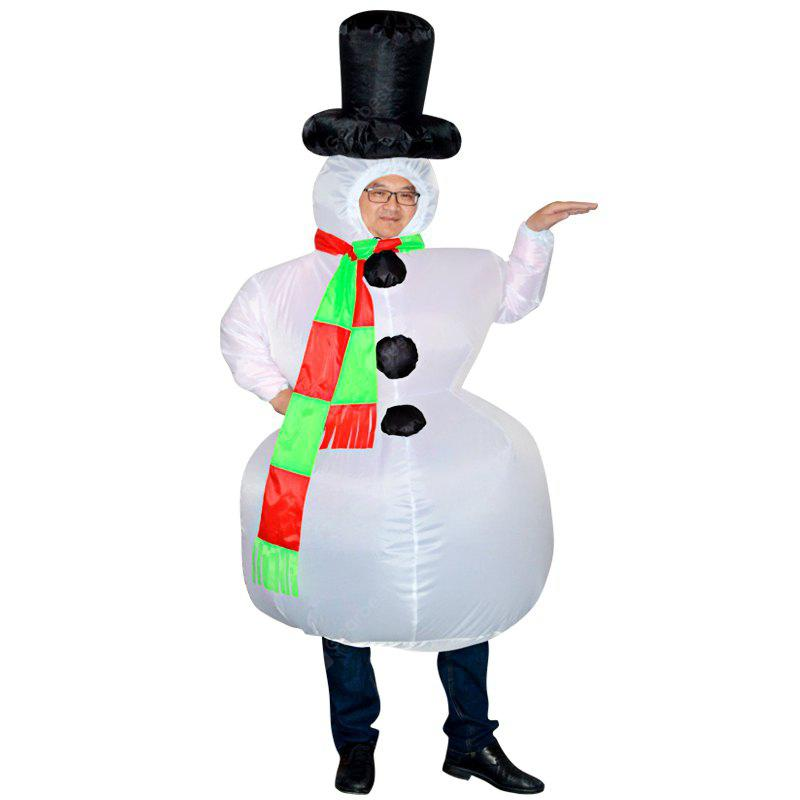Snowman Style Inflatable Novelty Fancy Dress