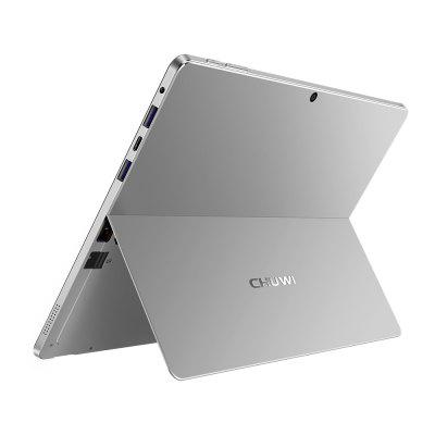 Chuwi SurBook 2 in 1 Tablet PCTablet PCs<br>Chuwi SurBook 2 in 1 Tablet PC<br><br>3.5mm Headphone Jack: Yes<br>AC adapter: 100-240V 12V 2A<br>Additional Features: Alarm, Bluetooth, Browser, Calculator, Calendar, Wi-Fi, Gravity Sensing System<br>Back camera: 5.0MP<br>Battery Capacity(mAh): 3.7V / 10000mAh, Li-ion polymer battery<br>Bluetooth: 4.0<br>Brand: CHUWI<br>Camera type: Dual cameras (one front one back)<br>Core: Quad Core, 1.1GHz<br>CPU: Intel Celeron N3450<br>CPU Brand: Intel<br>DC Jack: Yes<br>English Manual : 1<br>External Memory: TF card up to 128GB (not included)<br>Front camera: 2.0MP<br>G-sensor: Supported<br>IPS: Yes<br>MIC: Supported<br>MS Office format: Excel, PPT, Word<br>OS: Windows 10<br>Package size: 34.00 x 25.50 x 7.50 cm / 13.39 x 10.04 x 2.95 inches<br>Package weight: 2.6580 kg<br>Picture format: BMP, JPG, PNG, JPEG, GIF<br>Power Adapter: 1<br>Pre-installed Language: Windows OS is built-in English, and other languages need to be downloaded by WiFi.<br>Product size: 29.30 x 20.00 x 1.50 cm / 11.54 x 7.87 x 0.59 inches<br>Product weight: 1.0430 kg<br>RAM: 6GB<br>ROM: 64GB<br>Screen resolution: 2736 x 1824<br>Screen size: 12.3 inch<br>Skype: Supported<br>Speaker: Built-in Dual Channel Speaker<br>Support Network: Dual WiFi 2.4GHz/5.0GHz<br>Tablet PC: 1<br>TF card slot: Yes<br>Type: Notebook<br>Type-C: 1<br>USB Slot: Yes(2 x USB 3.0)<br>WIFI: 802.11 a/b/g/n/ac wireless internet<br>Youtube: Supported