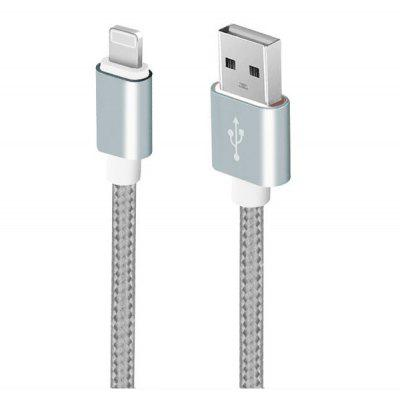 Nylon Braided Charging Data Sync Cable for iPhone 1m