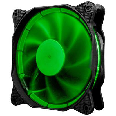 1STPLAYER Anello di fuoco 120mm 15 LEDs Silent Cooling Case Fan