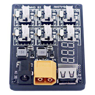 6-in-1 Parallel Charging Board