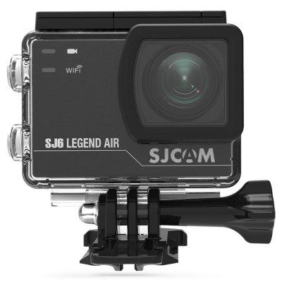 Original SJCAM SJ6 Legend Air 4K Action CameraAction Cameras<br>Original SJCAM SJ6 Legend Air 4K Action Camera<br><br>Aerial Photography: Yes<br>Anti-shake: Yes<br>Application: Aerial Photography, Underwater, Ski, Motorcycle, Extreme Sports, Bike<br>Auto Focusing: No<br>Battery Capacity (mAh): 1050mAh<br>Battery Type: Built-in<br>Brand Name: SJCAM<br>Camera Timer: Yes<br>Charge way: USB charge by PC<br>Charging Time: 3 hours<br>Chipset: Novatek 96660<br>Chipset Name: Novatek<br>Features: Cool<br>Function: Anti-Shake, Waterproof, Camera Timer<br>Image Format: JPG<br>Interface Type: Micro USB<br>Lens Diameter: 17.5mm<br>Max External Card Supported: TF 128G (not included)<br>Model: SJ6 Legend Air<br>Night vision: No<br>Package Contents: 1 x Original SJCAM SJ6 Legend Air Action Camera, 1 x Waterproof Case, 1 x Quick Release Buckle, 1 x Handlebar Seatpost Mount, 1 x Curved Adhesive Mount, 1 x Flat Adhesive Mount, 1 x 3-way Pivot Arm Mo<br>Package size (L x W x H): 28.00 x 15.90 x 9.30 cm / 11.02 x 6.26 x 3.66 inches<br>Package weight: 0.7000 kg<br>Product size (L x W x H): 5.90 x 4.10 x 2.11 cm / 2.32 x 1.61 x 0.83 inches<br>Product weight: 0.0820 kg<br>Screen: With Screen<br>Screen resolution: 320x240<br>Screen size: 2.0inch<br>Screen type: LCD<br>Standby time: 3 months<br>Type: Sports Camera<br>Type of Camera: 4K<br>Video format: MP4, MOV<br>Video Frame Rate: 120fps,24fps,30FPS,60FPS<br>Video Resolution: 1080 FHD 1920 x 1080 ( 60fps ),2K(2560 x 1440)30fps,4K ( 24fps ) ( 2880 x 2160 ),4K (24fps),720P ( 1280 x 720 ) ( 120fps?,720P ( 1280 x 720 ) ( 30fps ),720P ( 1280 x 720 ) ( 60fps ),VGA (640 x 480),VG<br>Water Resistant: 30m ( with a waterproof case )<br>Waterproof: Yes<br>Waterproof Rating: IP68 ( with a waterproof case )<br>Wide Angle: 166 degree wide angle lens<br>WIFI: Yes<br>WiFi Distance: 10m<br>WiFi Function: Remote Control<br>Working Time: 130mins