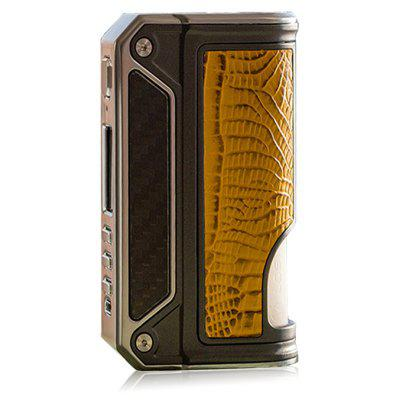 Gearbest LOST VAPE Therion BF DNA75C Squonker TC Box Mod - DEEP YELLOW