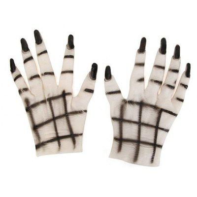Women Rubber Gloves for Halloween