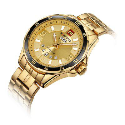 NAVIFORCE NF9106 Stainless Steel Band Men WatchMens Watches<br>NAVIFORCE NF9106 Stainless Steel Band Men Watch<br><br>Band material: Stainless Steel<br>Band size: 23 x 2.2cm<br>Brand: Naviforce<br>Case material: Alloy<br>Clasp type: Sheet folding clasp<br>Dial size: 4.6 x 4.6 x 1.4cm<br>Display type: Analog<br>Movement type: Quartz watch<br>Package Contents: 1 x Watch, 1 x Box<br>Package size (L x W x H): 16.00 x 8.00 x 4.50 cm / 6.3 x 3.15 x 1.77 inches<br>Package weight: 0.2400 kg<br>Product size (L x W x H): 23.00 x 4.60 x 1.40 cm / 9.06 x 1.81 x 0.55 inches<br>Product weight: 0.1610 kg<br>Shape of the dial: Round<br>Watch mirror: Mineral glass<br>Watch style: Fashion<br>Watches categories: Men
