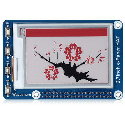 Waveshare 2.7 inch E-ink HAT ( B ) Three-color Display Module