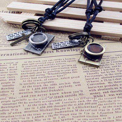 Creative Alloy Retro Camera Pendant Men NecklaceNecklaces &amp; Pendants<br>Creative Alloy Retro Camera Pendant Men Necklace<br><br>Occasions: Casual<br>Package Contents: 1 x Necklace<br>Package size (L x W x H): 6.00 x 6.00 x 4.00 cm / 2.36 x 2.36 x 1.57 inches<br>Package weight: 0.0520 kg<br>Product weight: 0.0320 kg<br>Style: Fashion<br>Type: Necklaces