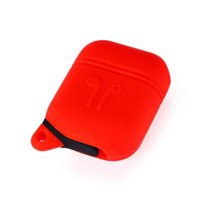 Portable Protective Pouch for AirPodsHeadphone Accessories<br>Portable Protective Pouch for AirPods<br><br>Package Contents: 1 x Protective Cover, 1 x Portable Ring<br>Package size (L x W x H): 13.00 x 7.20 x 3.30 cm / 5.12 x 2.83 x 1.3 inches<br>Package weight: 0.0420 kg<br>Product size (L x W x H): 5.60 x 4.50 x 2.50 cm / 2.2 x 1.77 x 0.98 inches<br>Product weight: 0.0250 kg