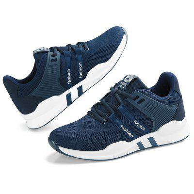 Masculino respirável Soft Wearable Athletic Shoes