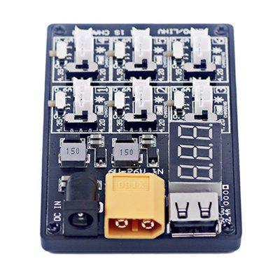 6-in-1 3.7V 1S LiPo LiHV Battery Charger Board