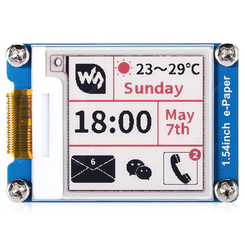 Waveshare 1.54 inch Type B Three-color Display Module