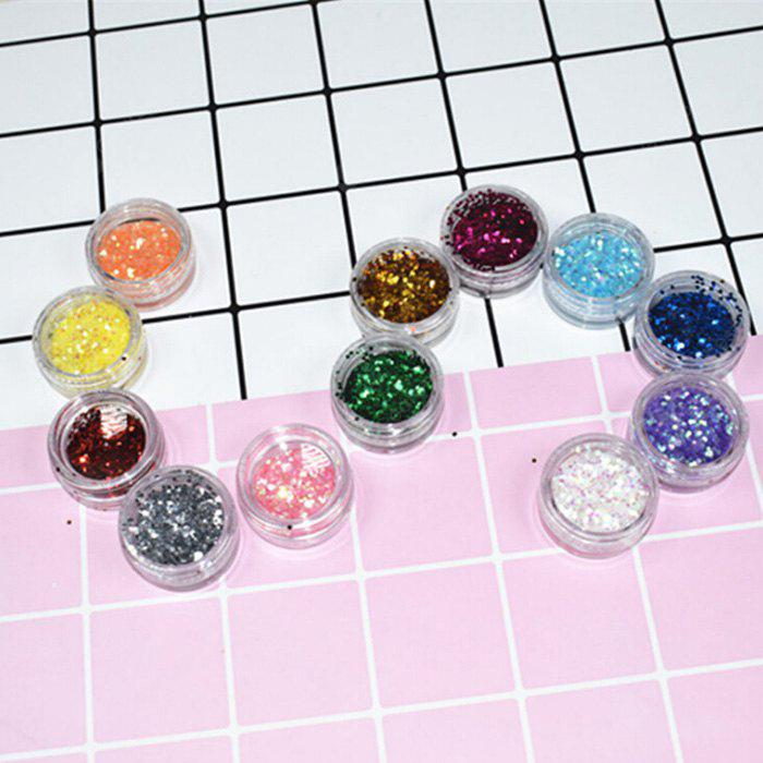 Mini Round Glitter Sheets Decoration c
