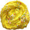 Buy Stress Relief Squishy Snow Fluffy Foam Toy Colorful Beads YELLOW