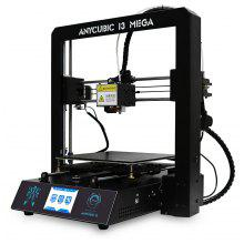 Anycubic I3 MEGA Full Metal Frame FDM 3D Printer - EU PLUG WHITE AND BLACK