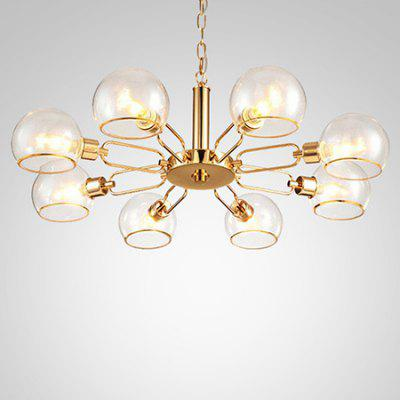 Nordic Creative Crystal Glass Personality Chandelier 220V
