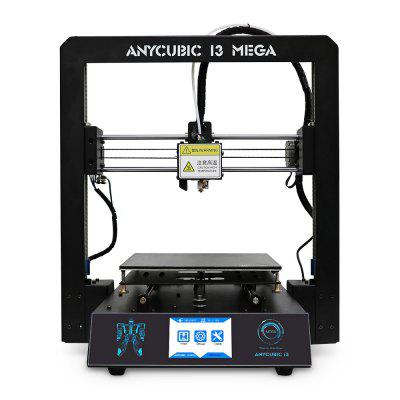 Anycubic I3 MEGA Full Metal Frame FDM 3D Printer original anycubic 3d pinter kit kossel pulley heat power big size 3d printing metal printer fast shipping from moscow