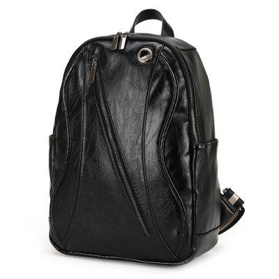 FEIDIKABOLO Men Fashion PU Backpack