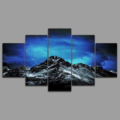 Buy COLORMIX YSDAFEN kn 250 5PCS Canvas Framed Starry Sky Prints for $55.37 in GearBest store