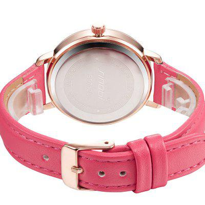 SINOBI 9712 Stylish Leather Band Women Quartz WatchWomens Watches<br>SINOBI 9712 Stylish Leather Band Women Quartz Watch<br><br>Band material: Leather<br>Band size: 21 x 1.6cm<br>Brand: Sinobi<br>Case material: Alloy<br>Clasp type: Pin buckle<br>Dial size: 3.6 x 3.6 x 0.8cm<br>Display type: Analog<br>Movement type: Quartz watch<br>Package Contents: 1 x Watch, 1 x Box<br>Package size (L x W x H): 28.00 x 8.00 x 3.50 cm / 11.02 x 3.15 x 1.38 inches<br>Package weight: 0.0820 kg<br>Product size (L x W x H): 21.00 x 3.60 x 0.80 cm / 8.27 x 1.42 x 0.31 inches<br>Product weight: 0.0320 kg<br>Shape of the dial: Round<br>Watch mirror: Mineral glass<br>Watch style: Fashion<br>Watches categories: Women<br>Water resistance: 30 meters