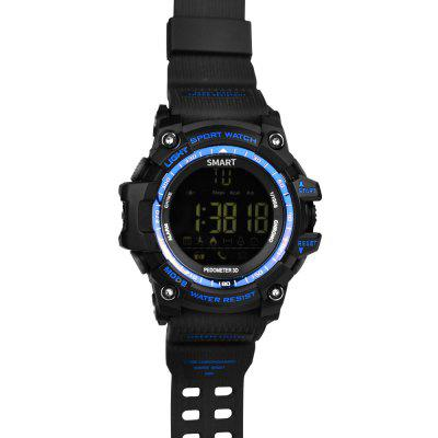 AOWO X5 Sport SmartwatchSmart Watches<br>AOWO X5 Sport Smartwatch<br><br>Alert type: Vibration<br>Band material: TPU<br>Band size: 24.5 x 2.2 cm<br>Battery  Capacity: 610mAh<br>Bluetooth calling: Phone call reminder<br>Bluetooth Version: Bluetooth 4.0<br>Brand: AOWO<br>Built-in chip type: SI-BW03<br>Case material: TPU<br>Compatability: Android 4.4 and iOS 8.0 or above<br>Compatible OS: Android, IOS<br>Dial size: 5.5 x 5.5 x 1.7 cm<br>Health tracker: Pedometer<br>Language: Arabic,English,French,German,Italian,Japanese,Korean,Portuguese,Russian,Simplified Chinese,Spanish,Traditional Chinese<br>Messaging: Message reminder<br>Notification type: QQ, Wechat, Facebook, Skype, Twitter<br>Operating mode: Touch Screen<br>Other Function: Alarm<br>Package Contents: 1 x Smartwatch, 1 x English Manual<br>Package size (L x W x H): 11.00 x 11.00 x 8.50 cm / 4.33 x 4.33 x 3.35 inches<br>Package weight: 0.1342 kg<br>People: Female table,Male table<br>Product size (L x W x H): 24.50 x 5.50 x 1.70 cm / 9.65 x 2.17 x 0.67 inches<br>Product weight: 0.0700 kg<br>Remote control function: Remote Camera<br>Screen: FSTN<br>Screen size: 1.12 inch<br>Shape of the dial: Round<br>Standby time: About 730 days<br>Type of battery: CR2450 button cell<br>Waterproof: Yes<br>Wearing diameter: 15 - 22.5 cm