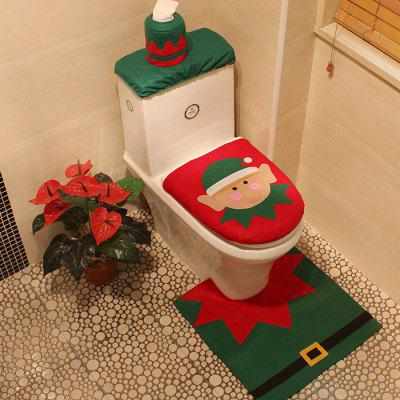 MCYH 279 Toilet Cover Mat Set for Christmas DecorChristmas Supplies<br>MCYH 279 Toilet Cover Mat Set for Christmas Decor<br><br>Brand: MCYH<br>For: All<br>Package Contents: 1 x Toilet Tank Lid Mat, 1 x Toilet Cover Mat, 1 x U-shaped Mat<br>Package size (L x W x H): 30.00 x 20.00 x 10.00 cm / 11.81 x 7.87 x 3.94 inches<br>Package weight: 0.3500 kg<br>Product weight: 0.3000 kg<br>Usage: Christmas