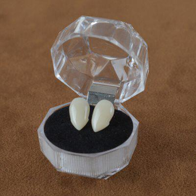 Decoration Fake Horror Teeth for HalloweenHalloween Supplies<br>Decoration Fake Horror Teeth for Halloween<br><br>Material: Resin<br>Package Contents: 1 x Pair of Teeth<br>Package size (L x W x H): 3.50 x 3.50 x 3.50 cm / 1.38 x 1.38 x 1.38 inches<br>Package weight: 0.0130 kg<br>Product size (L x W x H): 0.13 x 0.60 x 0.60 cm / 0.05 x 0.24 x 0.24 inches<br>Product weight: 0.0010 kg<br>Usage: Halloween
